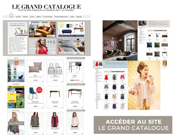 Découvrez notre guide shopping Le Grand Catalogue