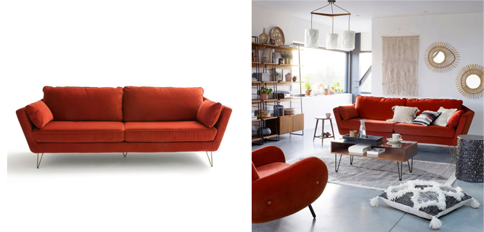Choisir un canapé La Redoute