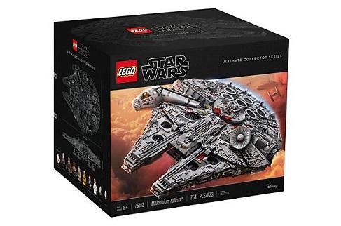 Le Millennium Falcon de Star Wars Lego