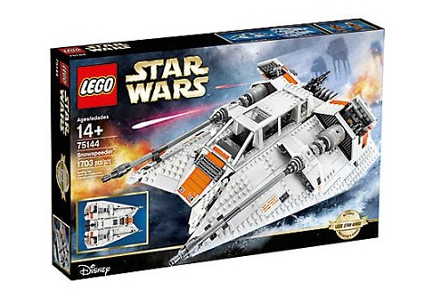 Le Snowspeeder de Star Wars lego