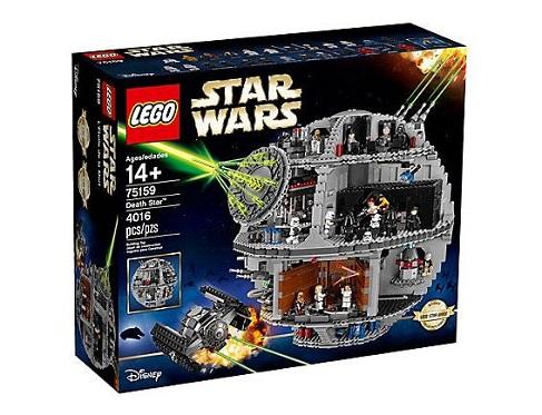 L'Etoile de la Mort Star Wars Lego