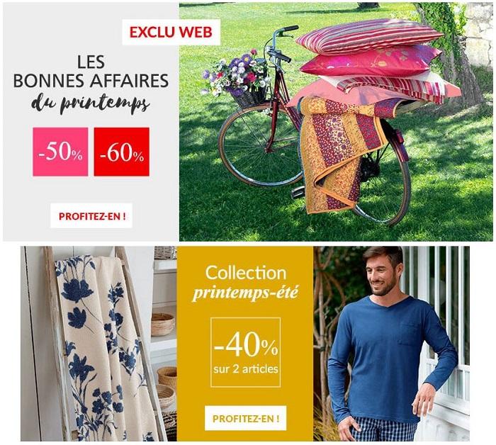Linvosges : jusqu'à -60% sur la collection printemps !