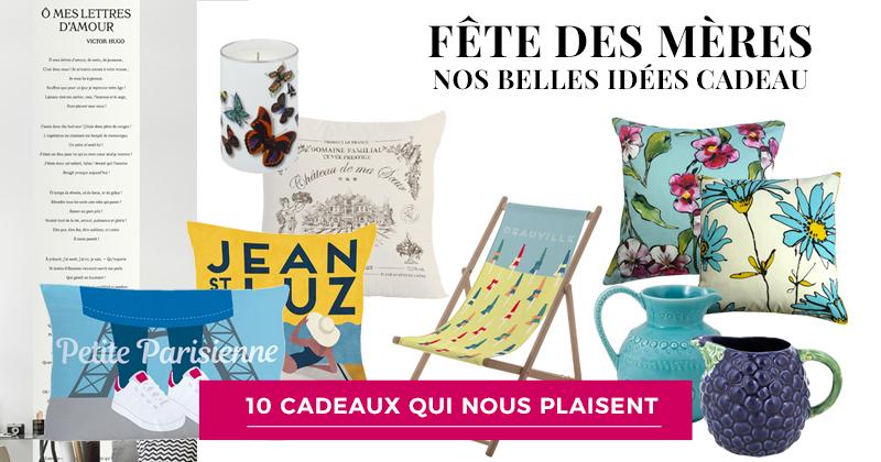 Sélection de cadeaux avec Déco Française