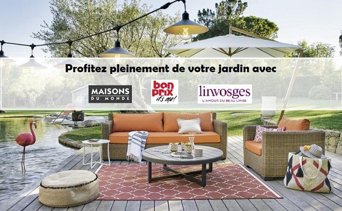 Maisons du Monde, Bonprix, Linvosges : la décoration pour le jardin