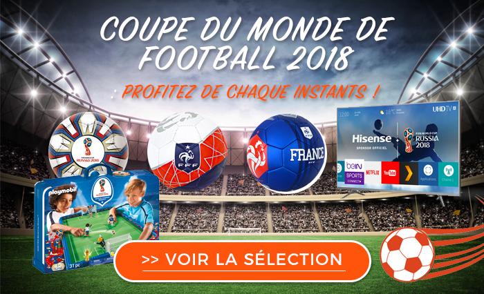 Coupe du monde de football 2018 : profitez de chaque instants !