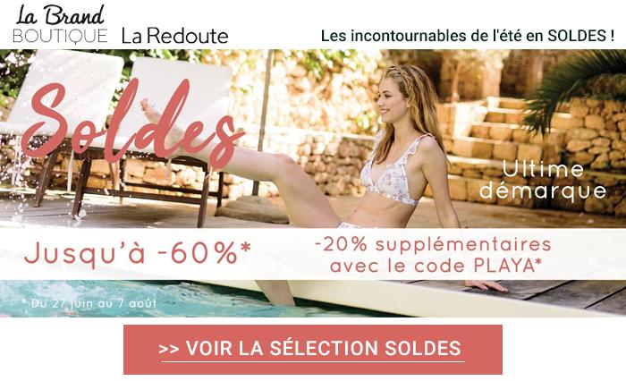 Accéder à la Brand boutique de La Redoute