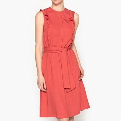 Accéder à la robe corail de la Brand boutique La Redoute