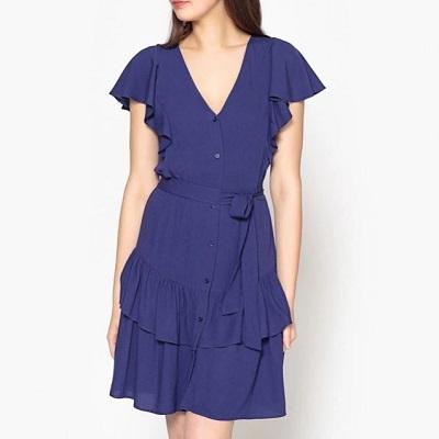 Accéder à la robe à volants de la Brand boutique La Redoute