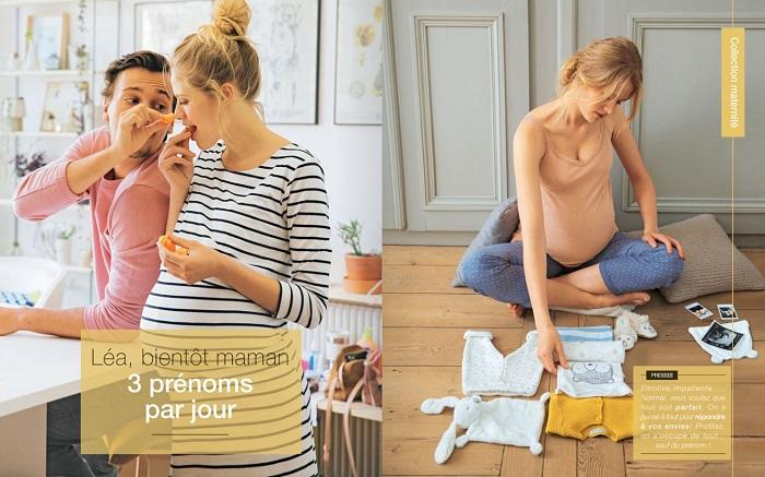 Voir la collection maternité du catalogue Vertbaudet automne 2018