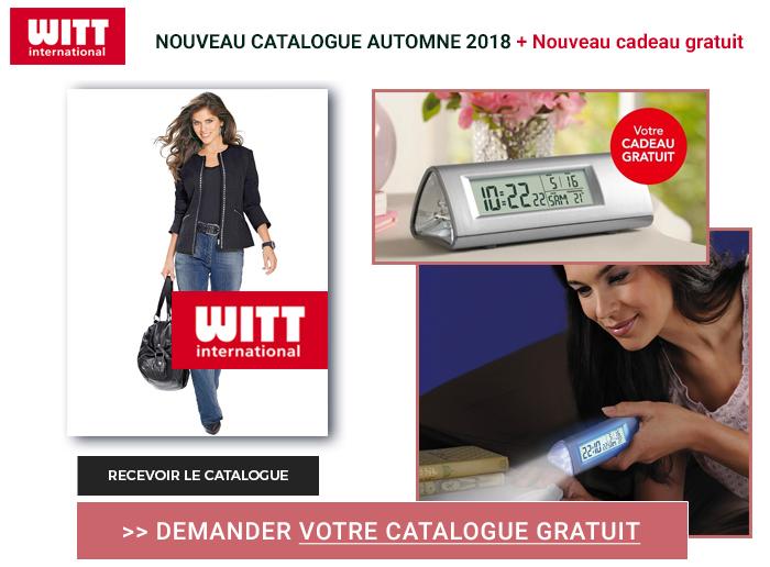 Cliquez ici pour voir demander votre catalogue Witt International gratuitement