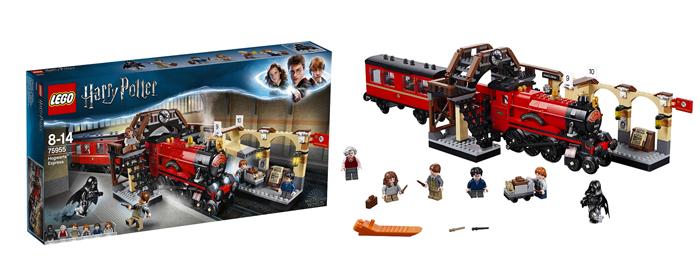 Le Poudlard Express - LEGO Harry Potter - Je clique ici pour le découvrir