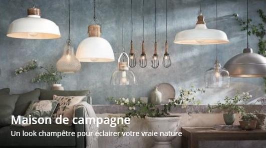 Voir les luminaires style Maison de Campagne
