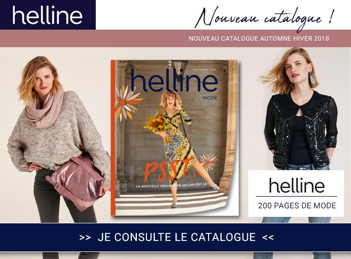 Helline : tendances mode automne 2018 du catalogue à consulter