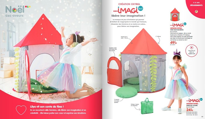 Feuilleter le catalogue de Noël Oxybul