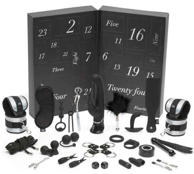 Craquer pour le calendrier Fifty Shades of Grey