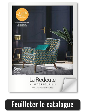 la redoute int rieurs d couvrez le nouveau catalogue. Black Bedroom Furniture Sets. Home Design Ideas