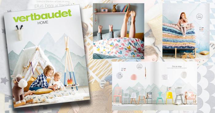 Catalogue Vertbaudet: Nouvelle Collection Home Automne Hiver 2017/2018