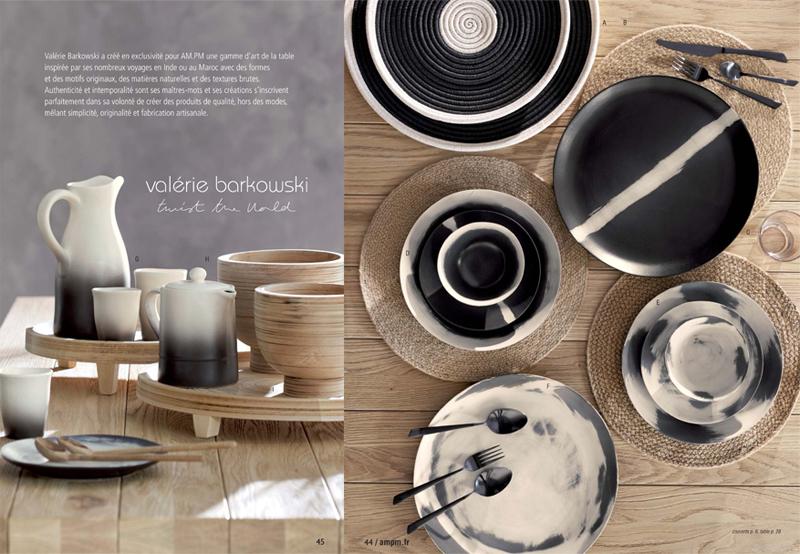 Cliquez ici pour voir la nouvelle collection de décoration et d'art de table AM.PM