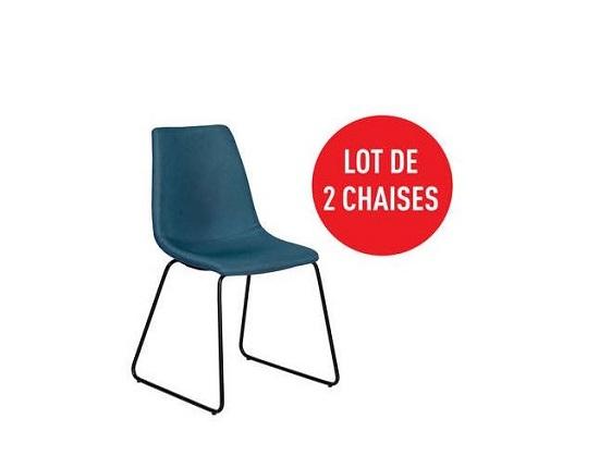Cliquez ici pour voir le lot de 2 chaises Conforama