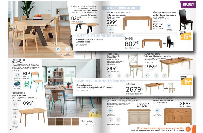 Cliquez pour découvrir les promotions sur les meubles Camif