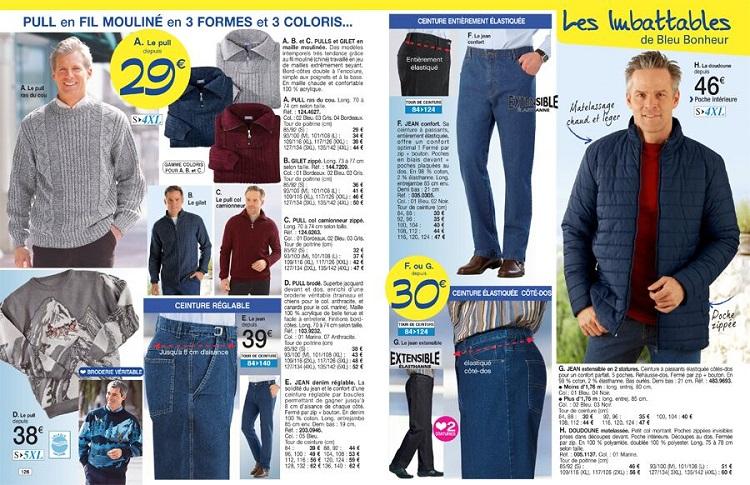 Cliquez ici pour accéder à la collection homme Bleu Bonheur