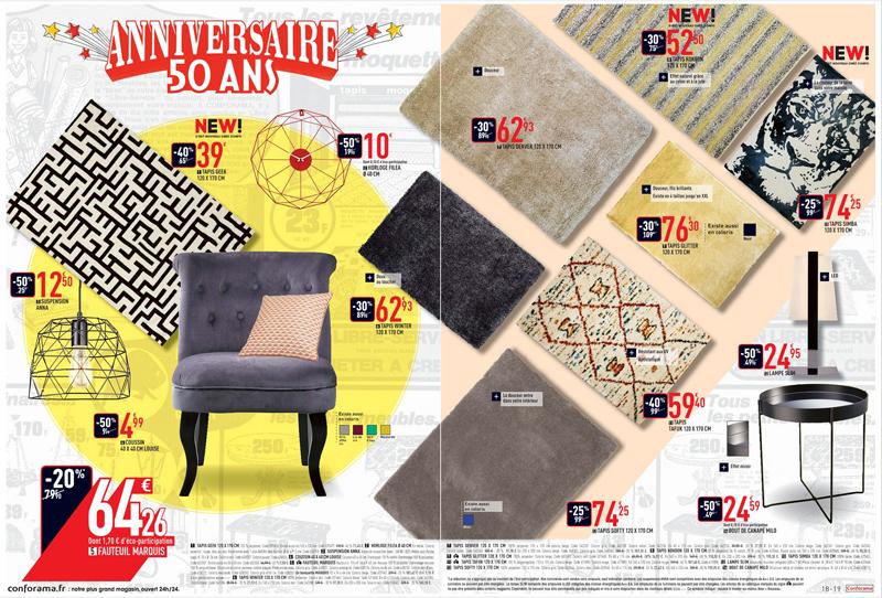 Conforama: 2 nouveaux catalogues anniversaire à feuilleter!