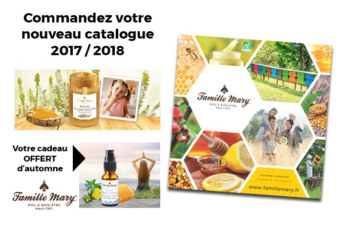 Cliquez ici pour demander gratuitement votre catalogue Famille Mary