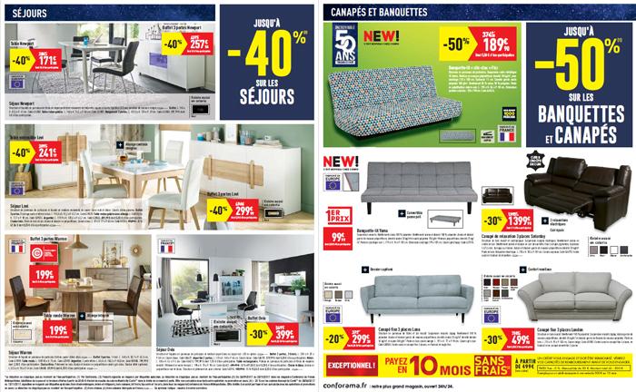 Découvrir les offres sur les canapés et les séjours