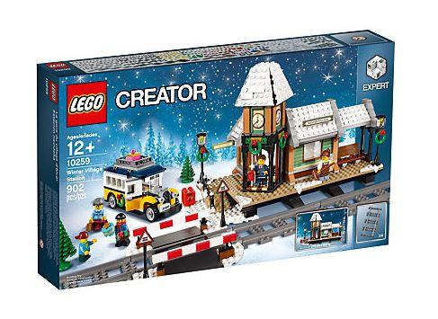 Le Village d'Hiver Lego