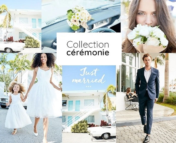 Voir la collection mariage La Redoute, Anne Weyburn et Castaluna