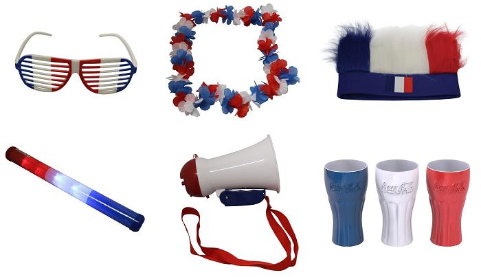 Voir les accessoires bleus, blancs, rouges de chez Electro Dépôt