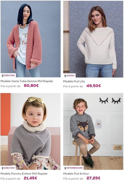 Phildar : A vos tricots ! Jusqu'à -20€ sur votre commande !
