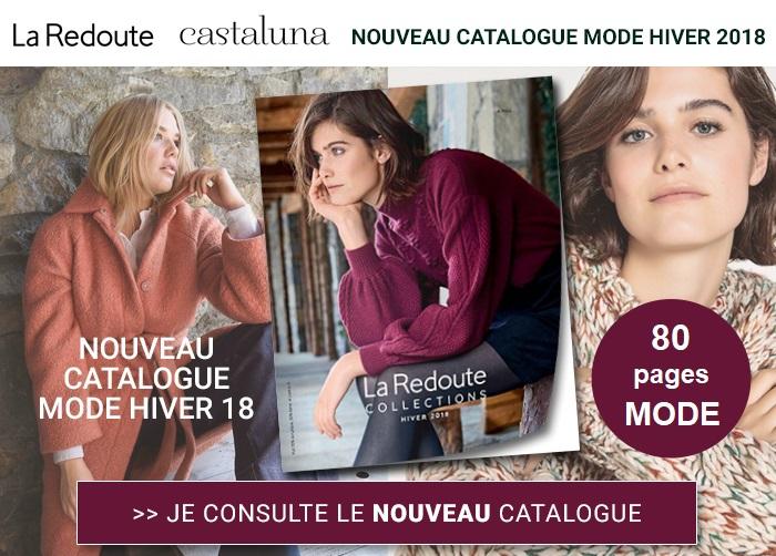 La Redoute : nouveau catalogue automne hiver 2018 à consulter !