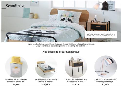 nouvelles tendances la redoute int rieurs automne hiver 2016. Black Bedroom Furniture Sets. Home Design Ideas