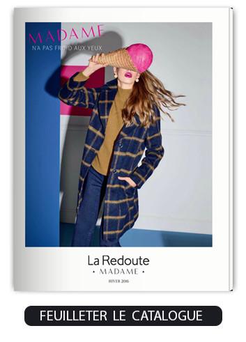 la redoute madame vous d voile son nouveau catalogue hiver 16. Black Bedroom Furniture Sets. Home Design Ideas