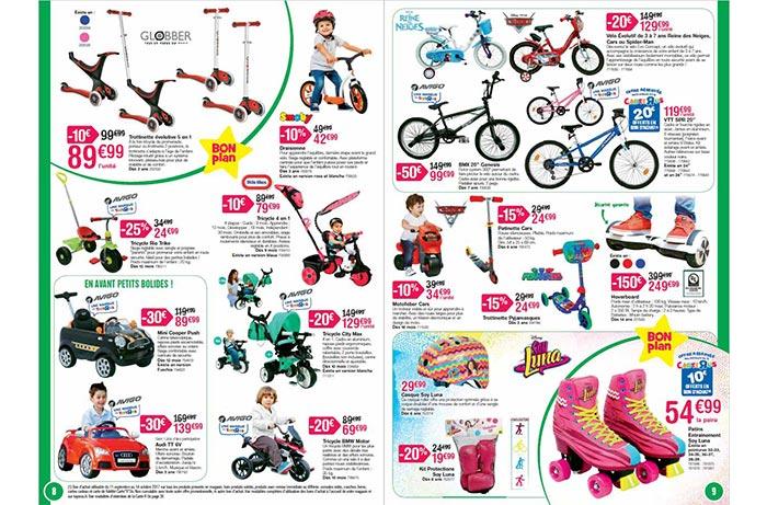 Cliquez ici pour voir les tricycles et porteurs de Toys'R'Us