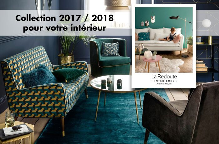 la redoute int rieurs nouveau catalogue a h 2017. Black Bedroom Furniture Sets. Home Design Ideas