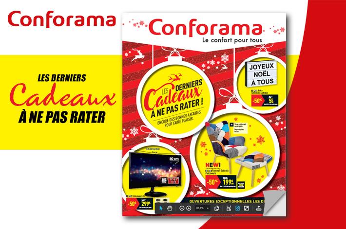 Cliquez ici pour feuilleter le catalogue Conforama