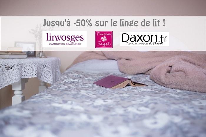 Linvosges, Françoise Saget, Daxon : jusqu'à -50% sur les parures de lit !