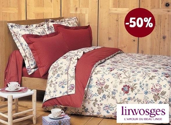 Cliquez ici pour voir la parure de lit Juila de chez Linvosges