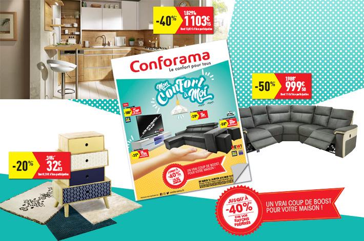Cliquez ici pour consulter votre catalogue Conforama