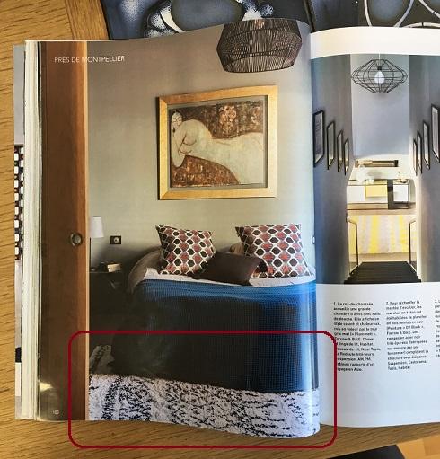 Voir le tapis style berbère, Afaw, de chez La Redoute Intérieurs