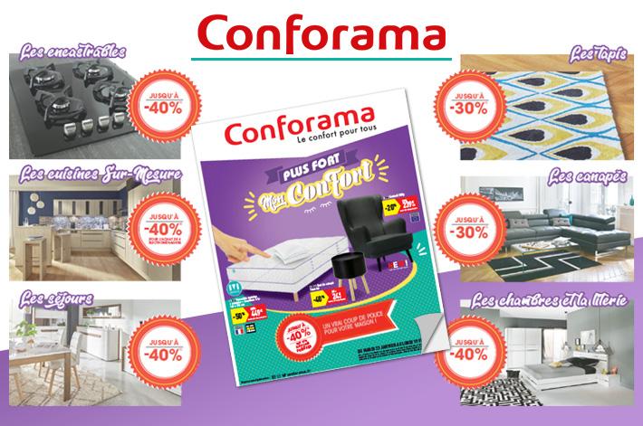Cliquez pour accéder au catalogue Conforama