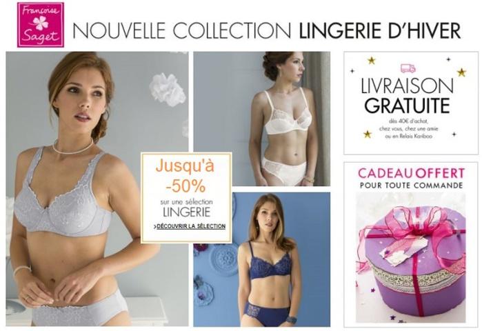 Voir la nouvelle collection de lingerie d'hiver Françoise Saget