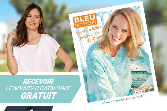 Cliquez ici pour recevoir GRATUITEMENT votre catalogue Bleu Bonheur