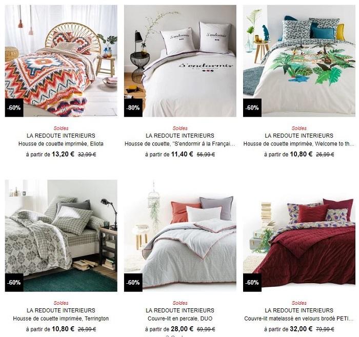 la redoute int rieurs la nouvelle collection de linge de maison jusqu 39 40. Black Bedroom Furniture Sets. Home Design Ideas