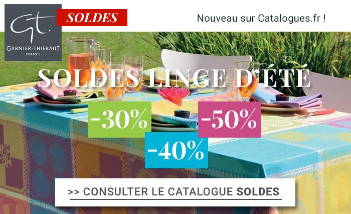 Nouveauté ! La boutique en ligne et le catalogue Garnier Thiebaut !