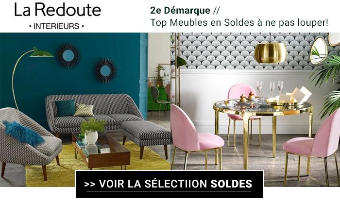 La Redoute Intérieurs : 12 meubles en soldes à ne pas louper !