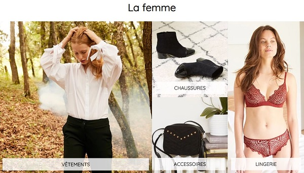 Découvrir les vêtements femme La Redoute Collections