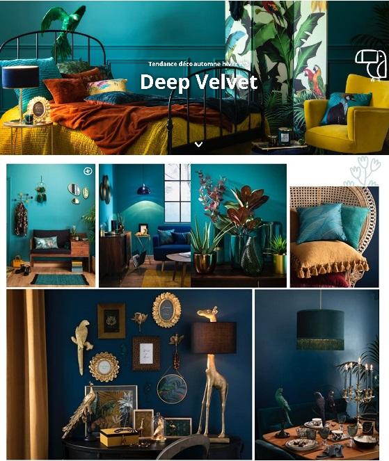 Découvrir la tendance Deep Velvet